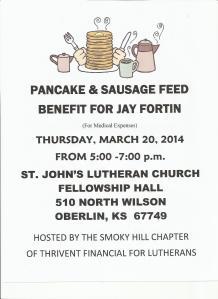 Jay Fortin Thrivent fundraiser 001